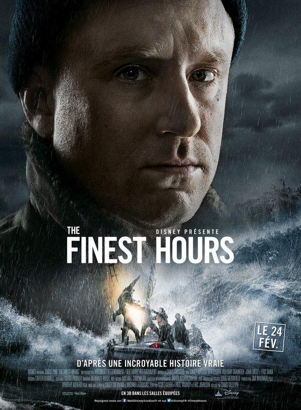 THE FINEST HOURS - le plus héroïques sauvetages de l'histoire des garde-côtes américains