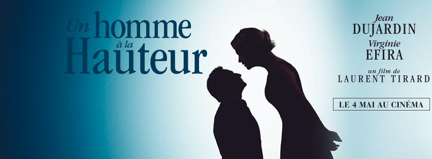 Jean Dujardin est un homme à la hauteur face à Virginie Efira ! le 4 mai 2016 au Cinéma
