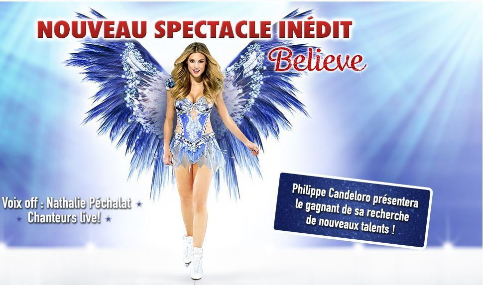 HOLIDAY ON ICE 2016 - Un nouveau spectacle Inédit 'Believe' du 3 au 13 Mars 2016