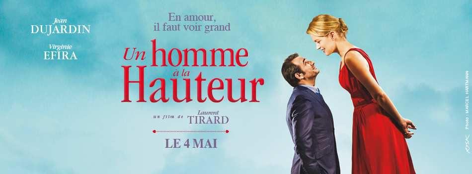 UN HOMME À LA HAUTEUR avec Virginie Efira et Jean Dujardin au Cinéma le 4 mai 2016