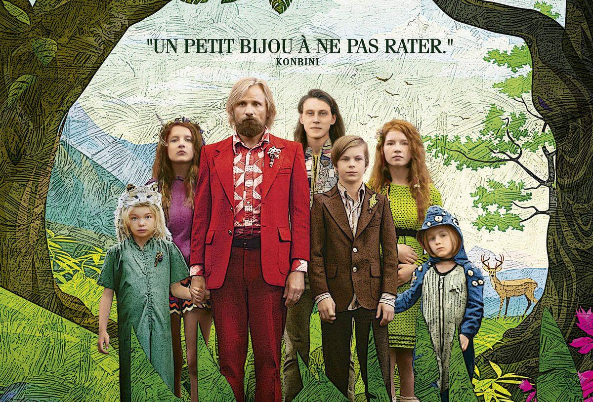CAPTAIN FANTASTIC avec Viggo Mortensen au Cinéma le 20 Juillet 2016