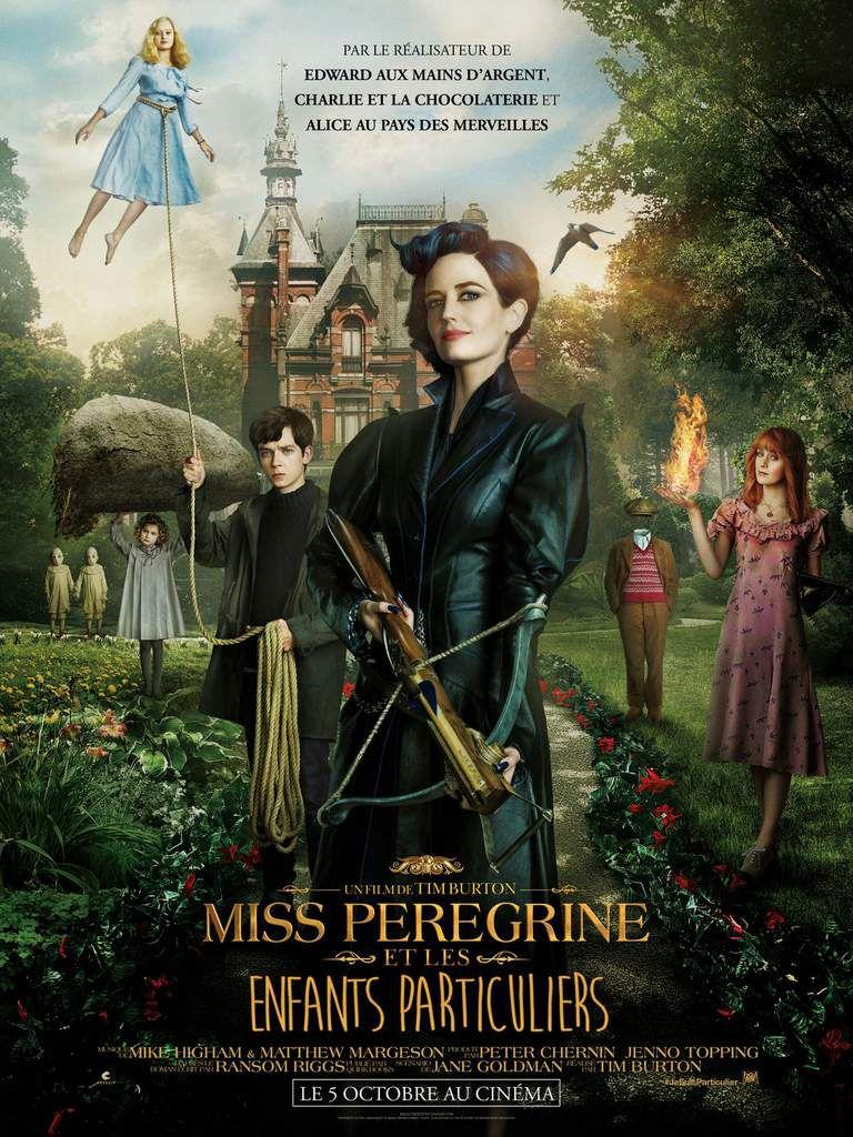 Miss Pérégrine et Les Enfants Particulier le dernier Tim Burton au Cinéma le 5 Octobre #JeSuisParticulier