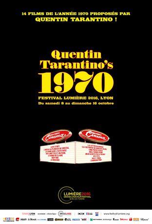 Quentin Tarantino pour l'ouverture du festival Lumière de Lyon et en Master Class exceptionnelle