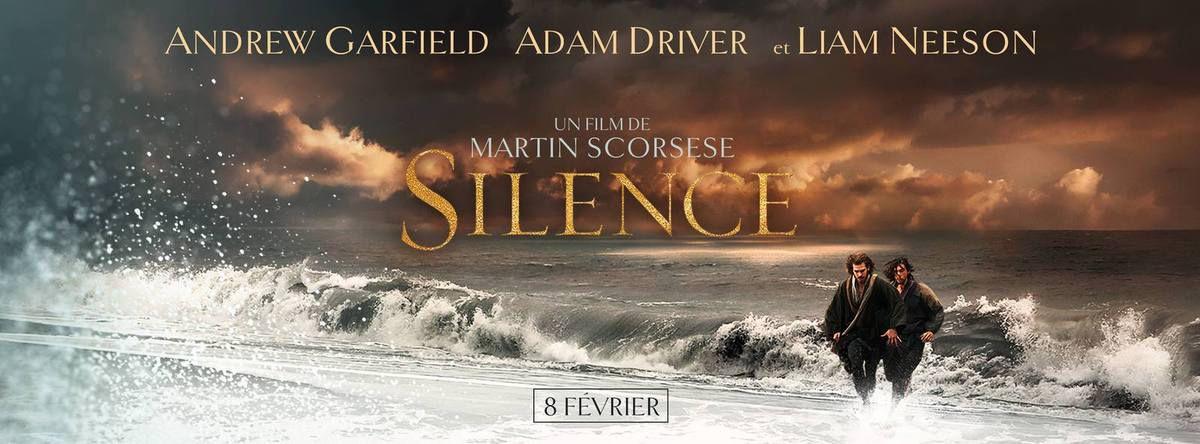SILENCE de Martin Scorcese Avec Andrew Garfield, Adam Driver et Liam Neeson au Cinéma le 8 Février 2017 #Silence