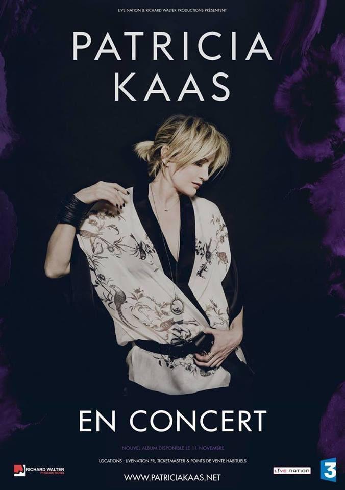 Patricia Kaas retrouve son élément la scène à Paris Salle Pleyel et dans toute la France en tournée