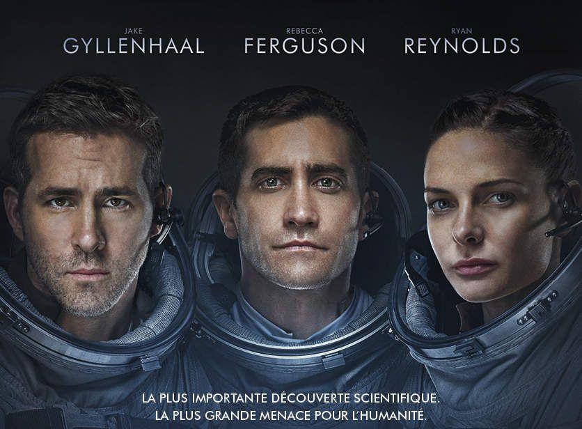 LIFE – ORIGINE INCONNUE avec Jake Gyllenhaal, Ryan Reynolds, Rebecca Ferguson au Cinéma le 19 Avril 2017 #LifeLeFilm