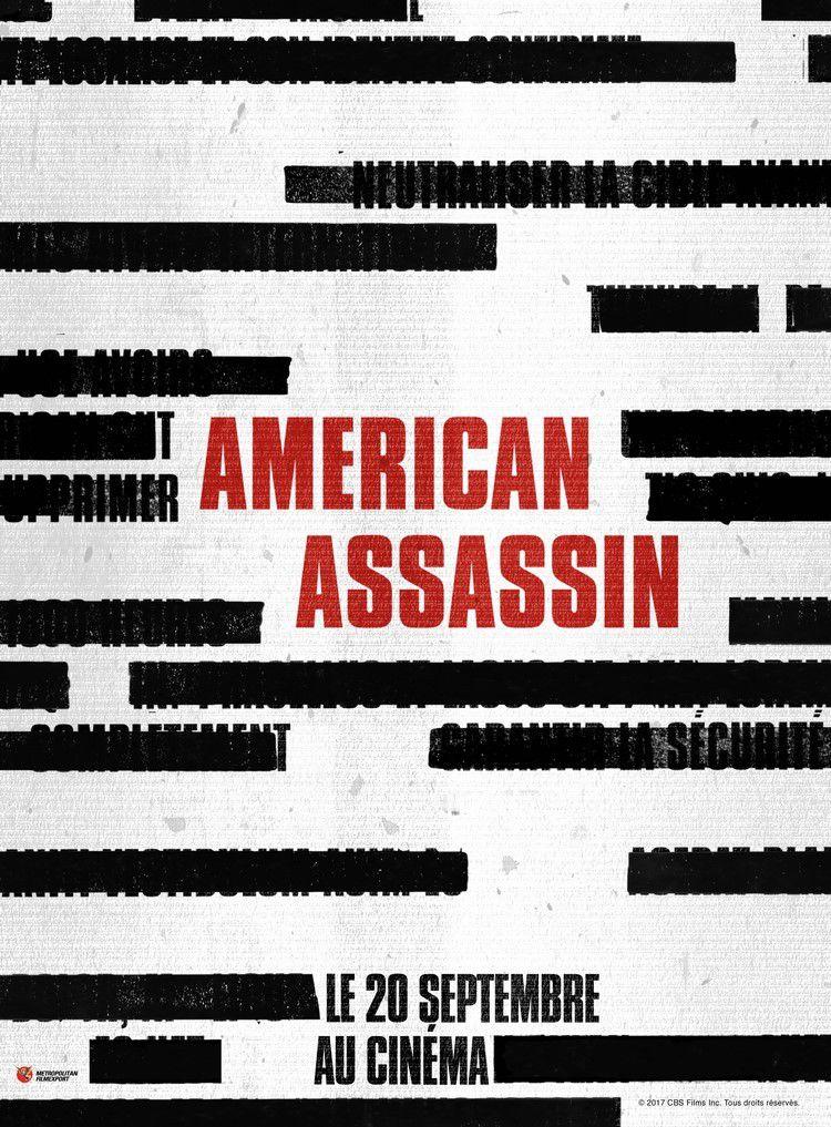 AMERICAN ASSASSIN avec Dylan O'Brien, Michael Keaton, Taylor Kitsch au Cinéma le 20 Septembre 2017