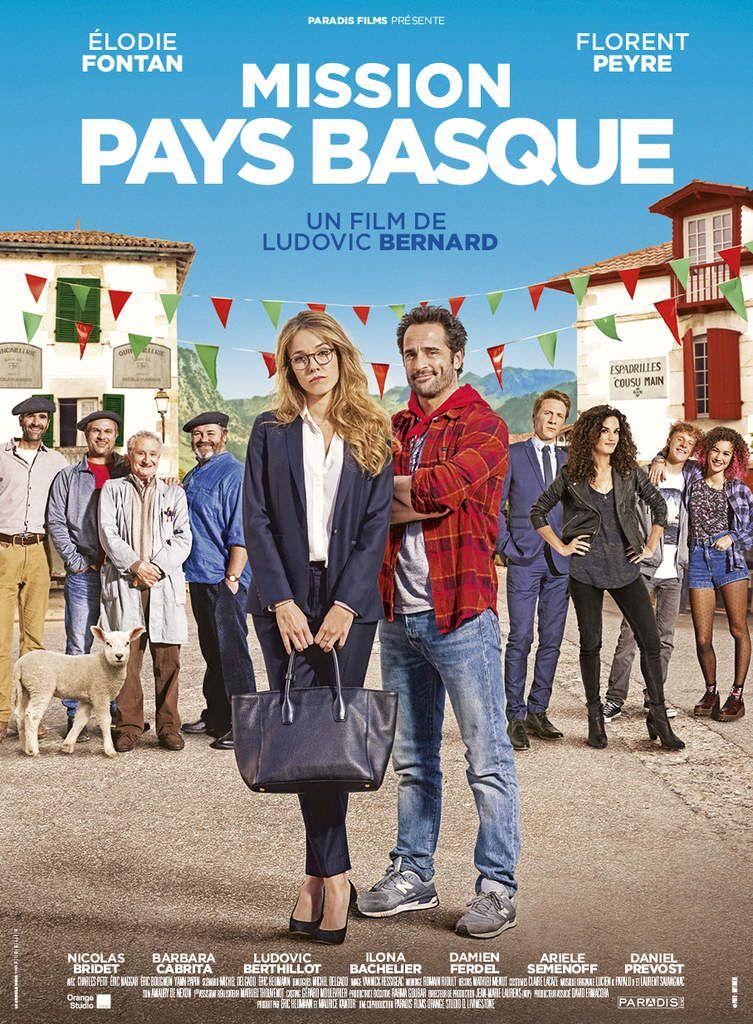 MISSION PAYS BASQUE avec Elodie Fontan, Florent Peyre au Cinéma le 12 Juillet 2017