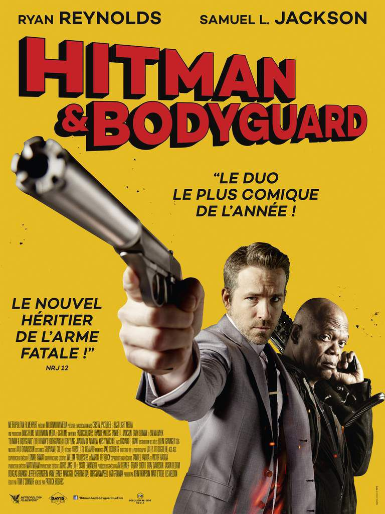 HITMAN AND BODYGUARD - L'AFFICHE DÉFINITIVE OFFICIELLE ! FRANCE