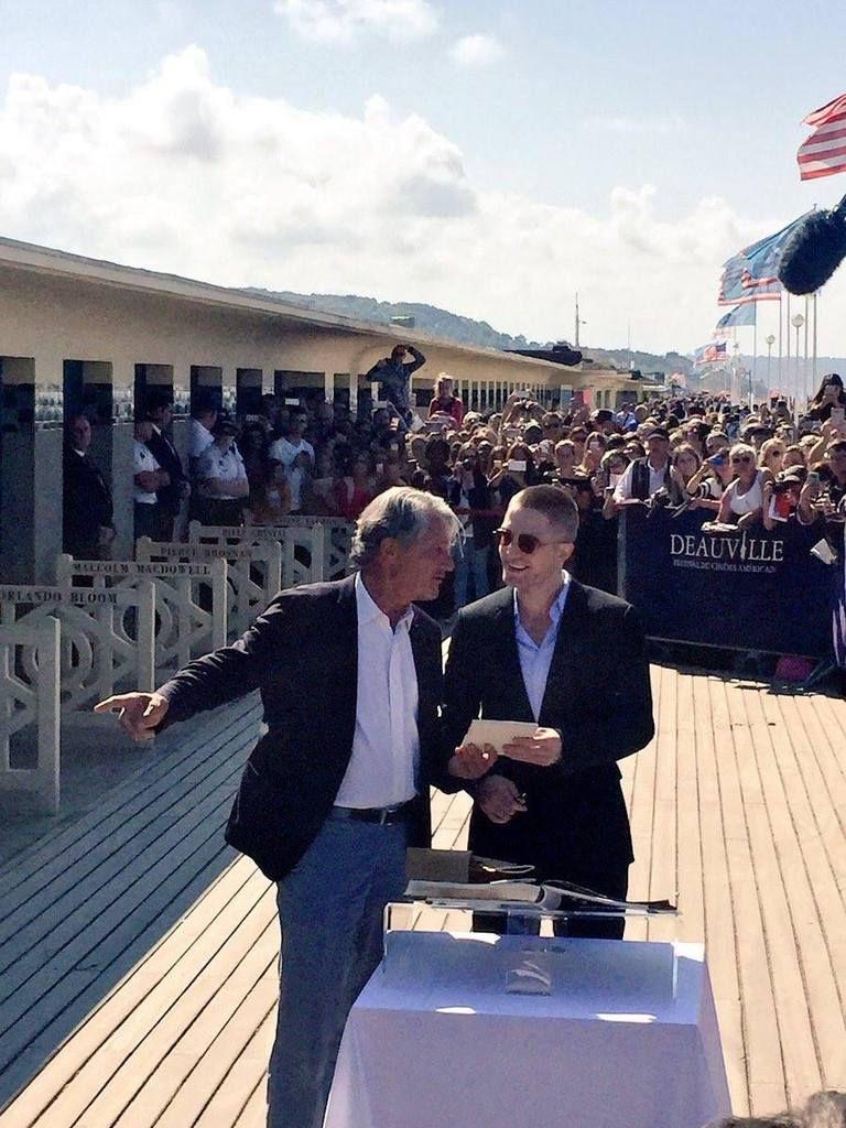 #Deauville2017 - Robert Pattinson Star du Jour à Deauville pour le Film Good Time et un Hommage