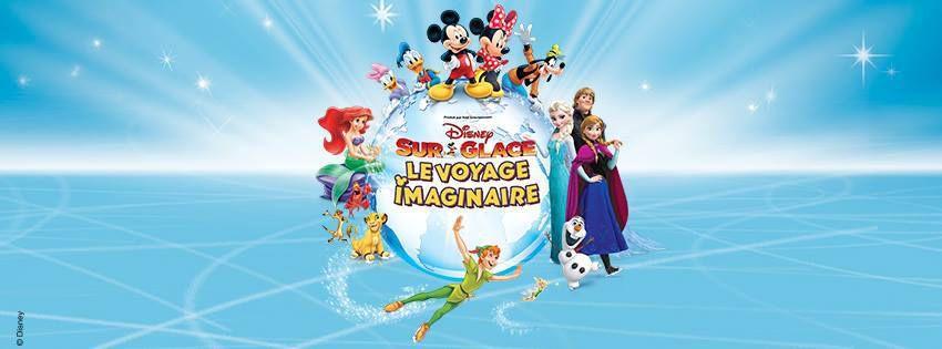 Disney sur Glace 2017 - Le voyage imaginaire au Zenith de Paris et en tournée