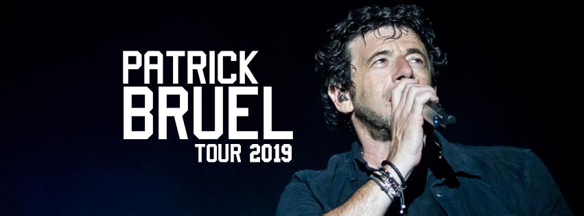 le TOUR 2019 de Patrick Bruel - Toutes les dates de la Tournée 2019