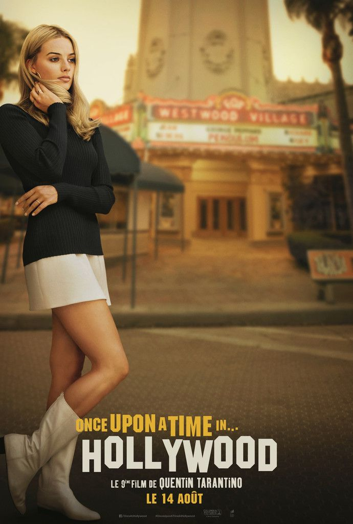 Once Upon a Time in Hollywood de Quentin Tarantino - Affiche Teaser