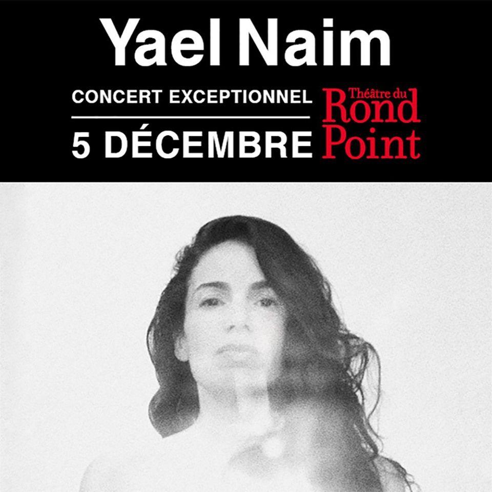 Yael Naim en Concert exceptionnel le 5 décembre au Théâtre du Rond Point