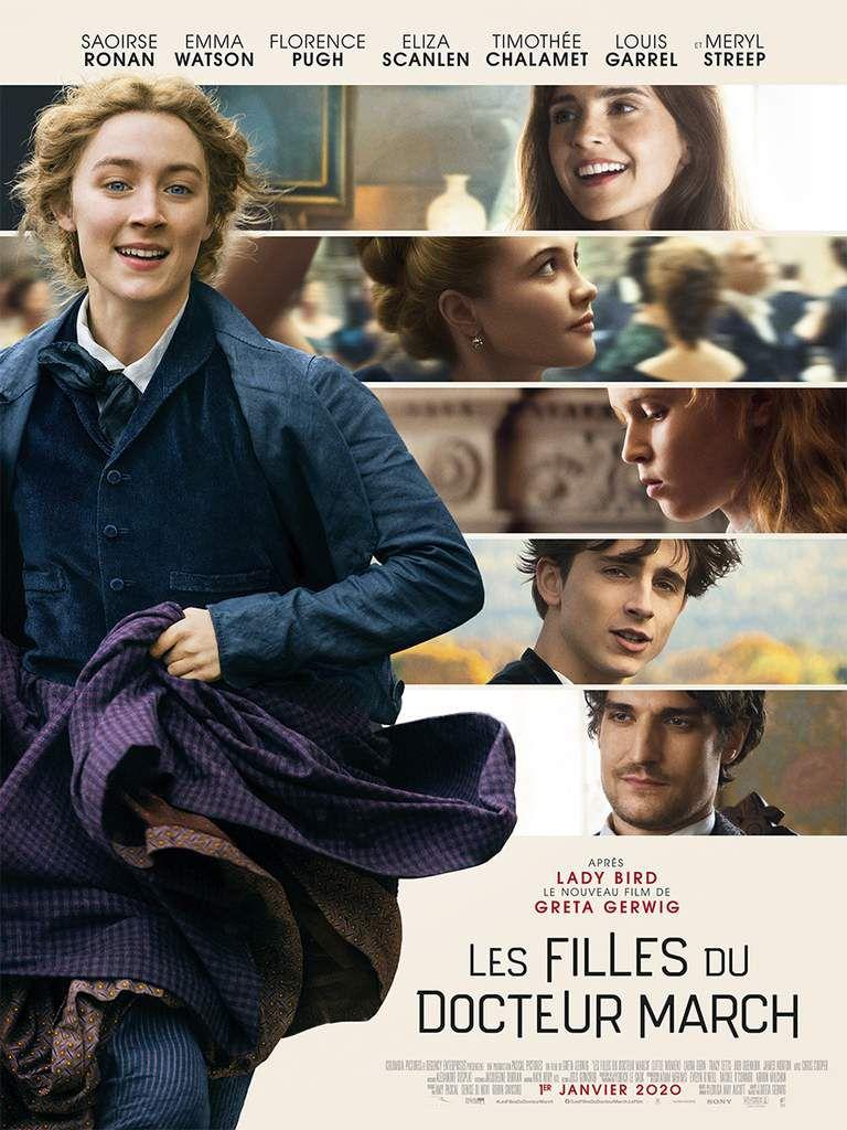 """LES FILLES DU DOCTEUR MARCH (LITTLE WOMEN) avec un """"gros"""" casting au cinéma le 1er janvier 2020"""