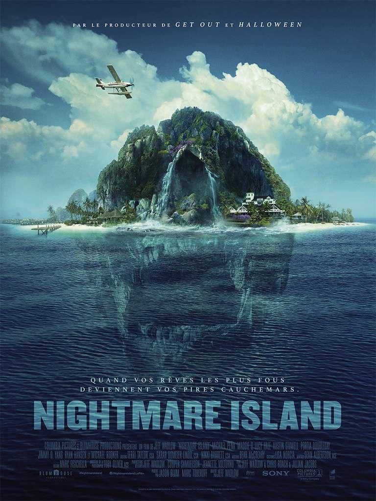 NIGHTMARE ISLAND - Découvrez l'affiche du film au Cinéma le 12 février 2020