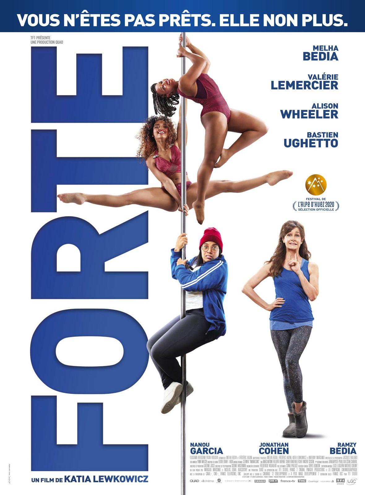FORTE avec Melha Bedia, Valérie Lemercier, Alison Wheeler, Ramzy et Jonathan Cohen, au Cinéma le 18 Mars