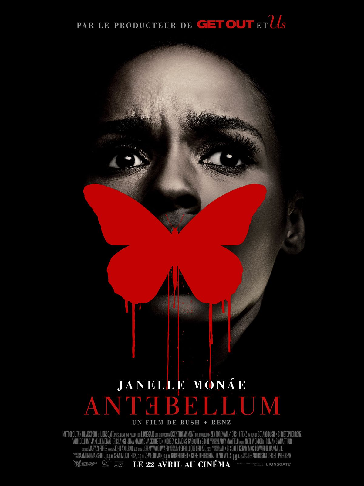 ANTƎBELLUM : Et si le destin vous choisissait ? le nouveau thriller du producteur de GET OUT et US.au Cinéma le ? Reporté/ Décalé