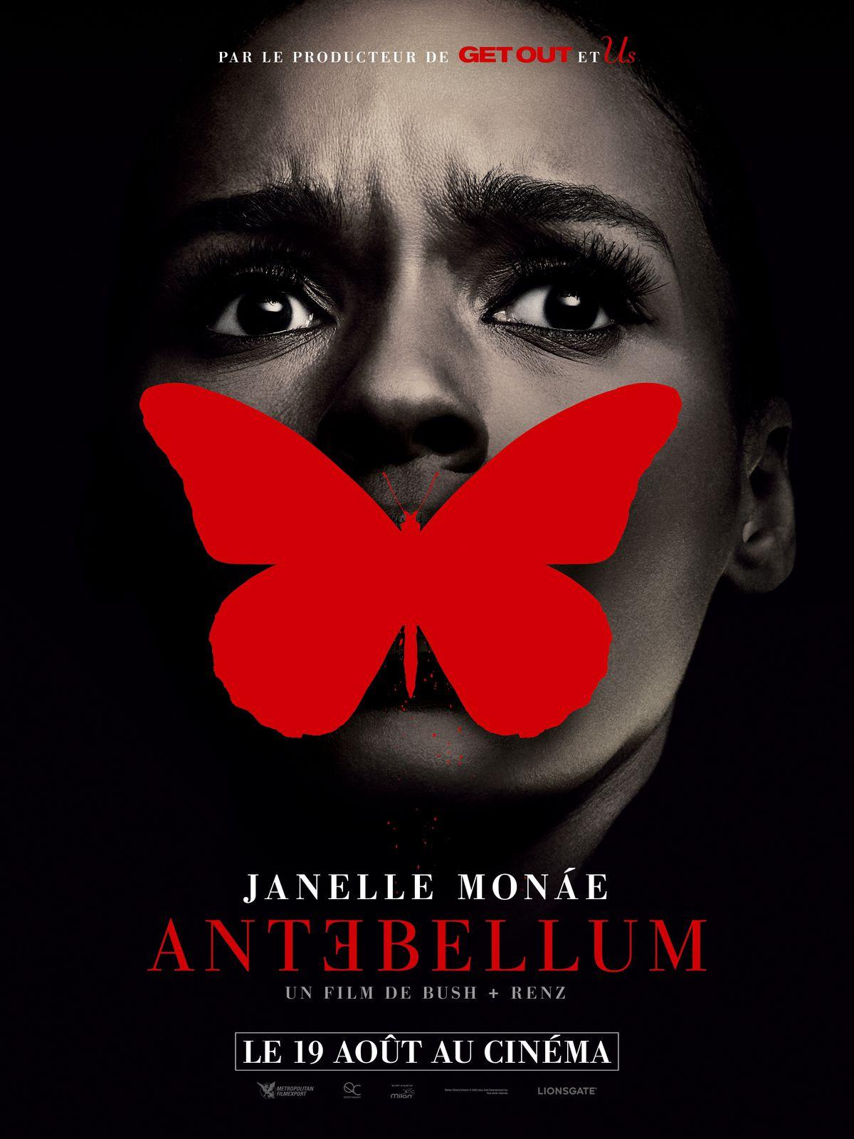 ANTEBELLUM : Nouvelle date de sortie ! Le 19 Août au Cinéma