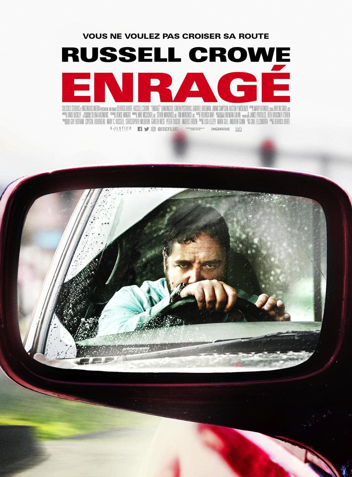 ENRAGÉ avec Russell Crowe, au Cinéma le 19 Aout 2020
