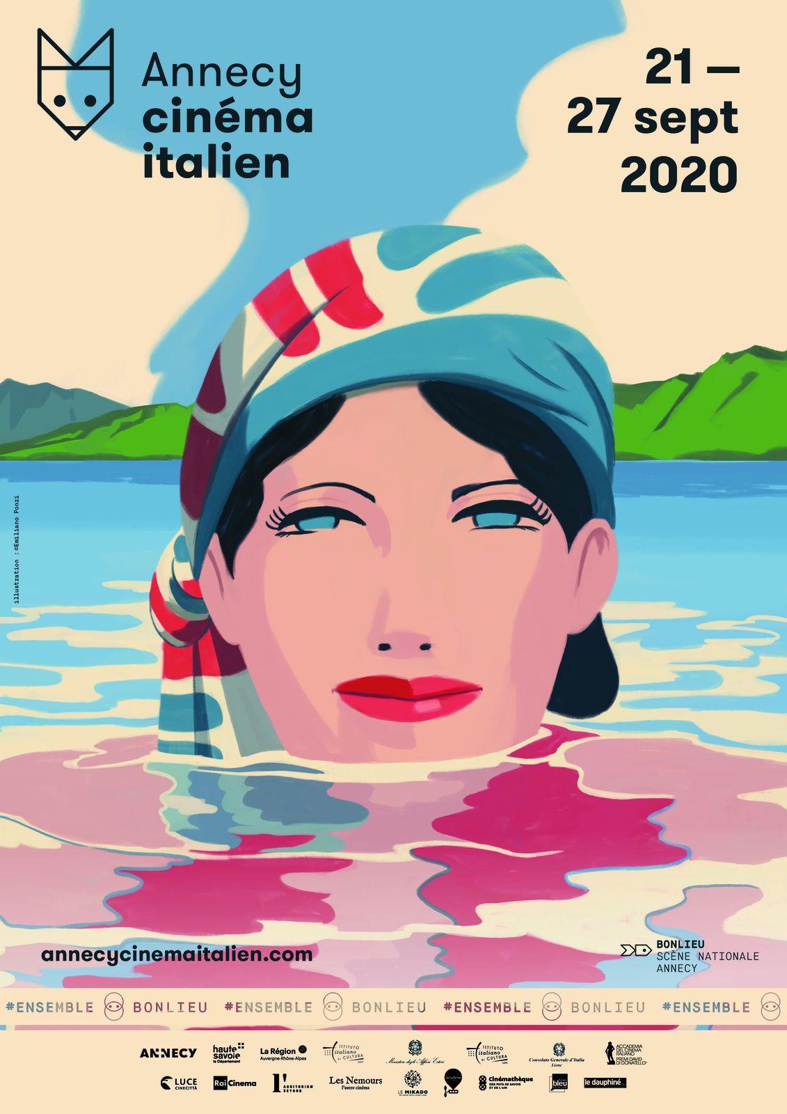 38ème édition du Festival Annecy Cinéma Italien du 21 au 27 septembre 2020