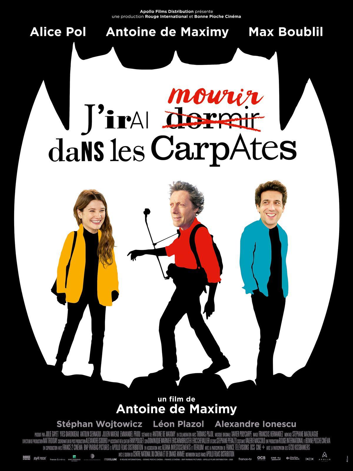 J'IRAI MOURIR DANS LES CARPATES d'Antoine de Maximy avecAlice Pol etMax Boublil au Cinéma le 16 Septembre 2020