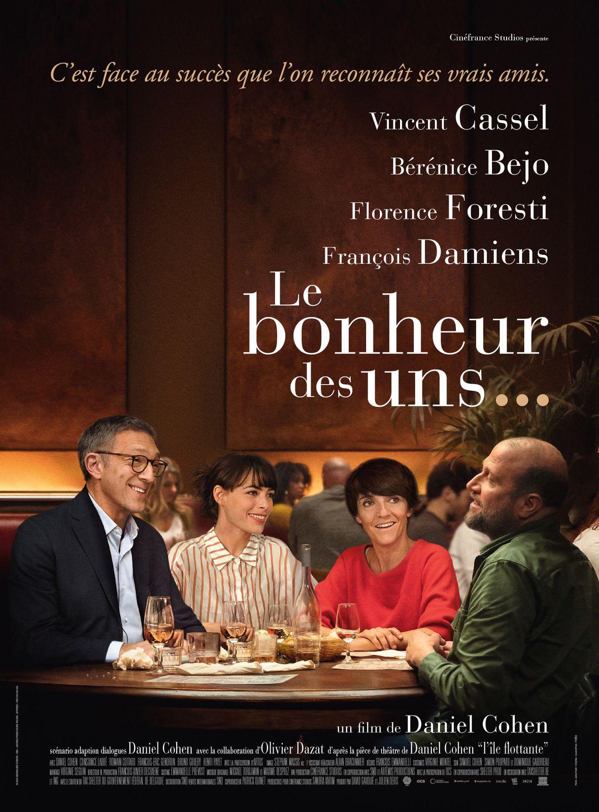 LE BONHEUR DES UNS…Bande Annonce du film de Daniel Cohen au Cinéma le 9 Septembre