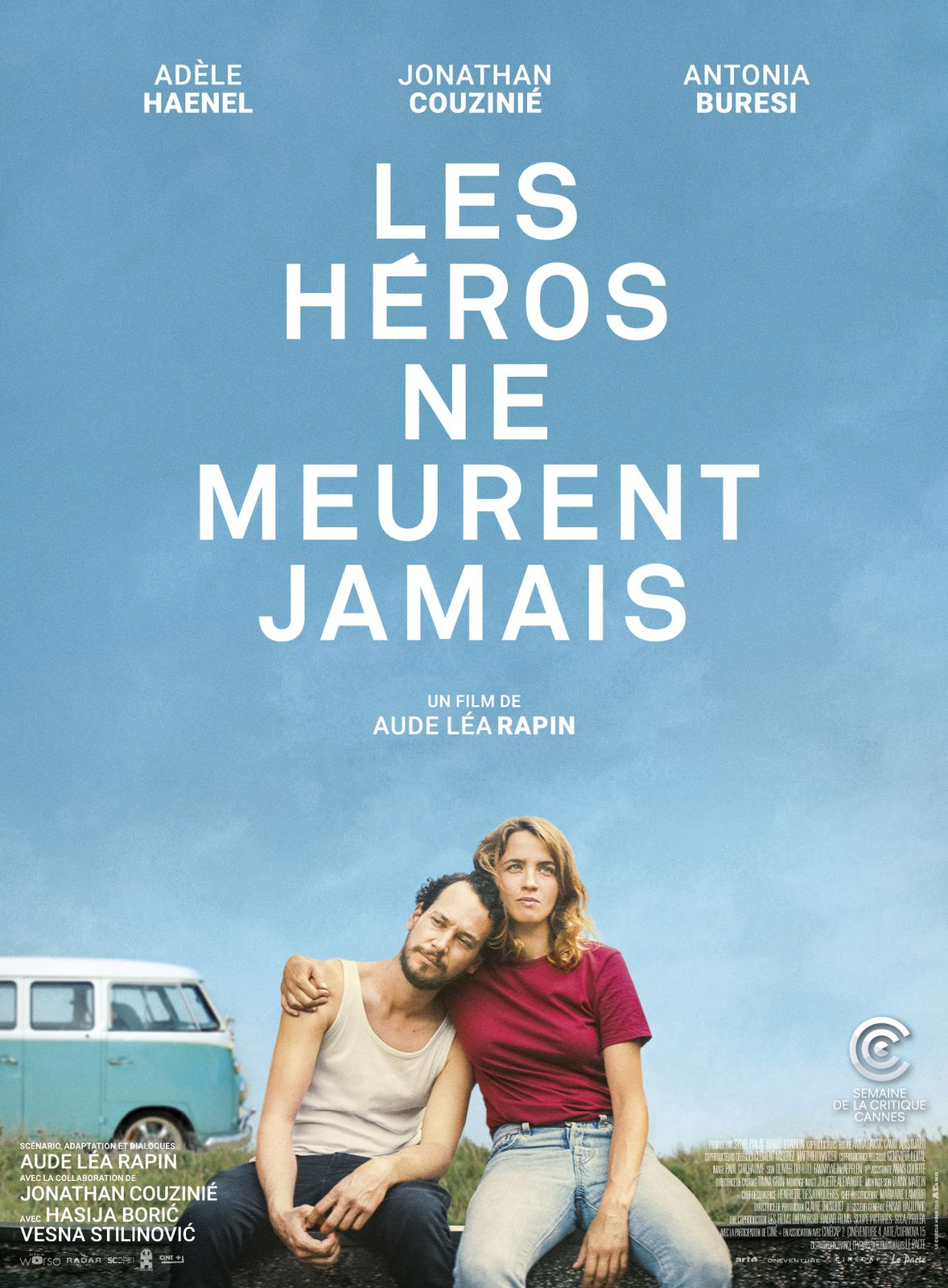 LES HÉROS NE MEURENT JAMAIS avec Adèle Haenel, Jonathan Couzinié et Antonia Buresi au Cinéma le 30 Septembre 2020