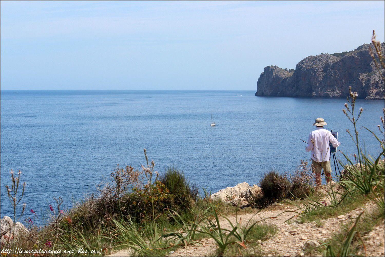 Sur  l'île de  Majorque (un petit  clic  pour agrandir )