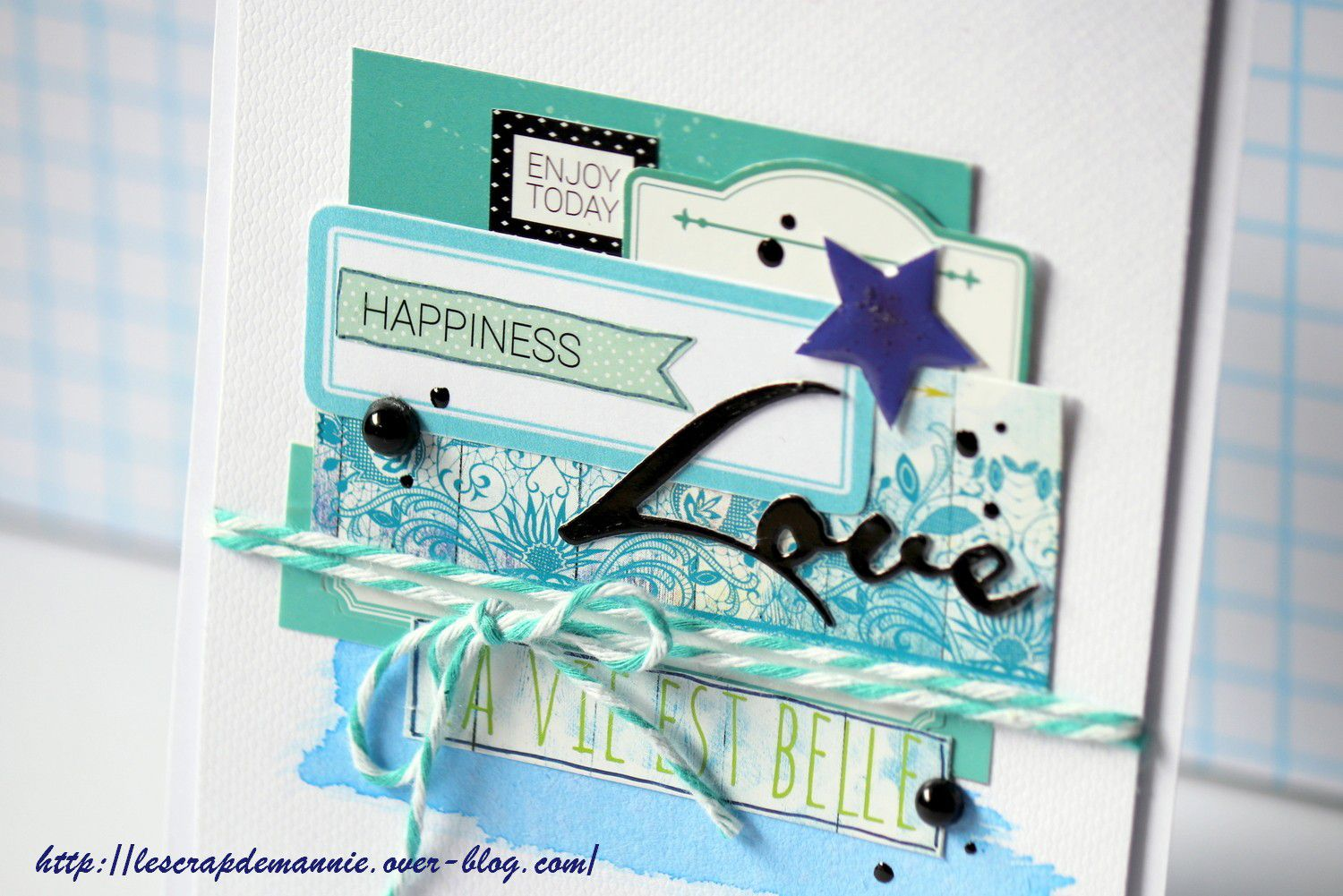 Défi  lift de  carte avril 2020 / Scrap&co