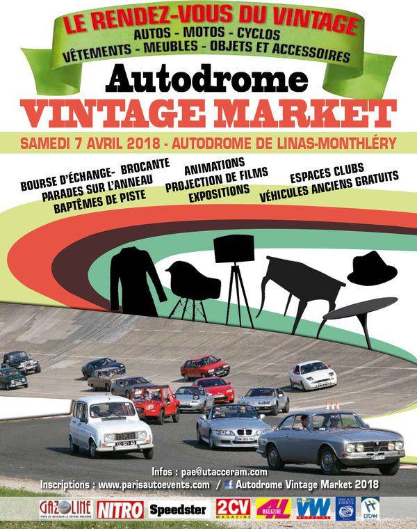 le magazine gazoline et paris auto events vous donnent rendez vous le samedi 7 avril pour un vnement ddi la culture vintage achatvente de vhicule