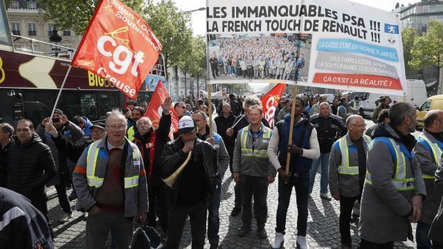 Solidarité avec les ouvriers de GM&S de La Souterraine