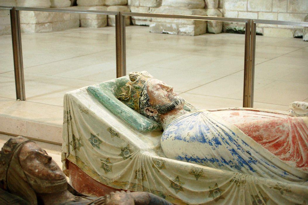 Gisant de Richard, à l'abbaye de Fontevraud (Anjou)