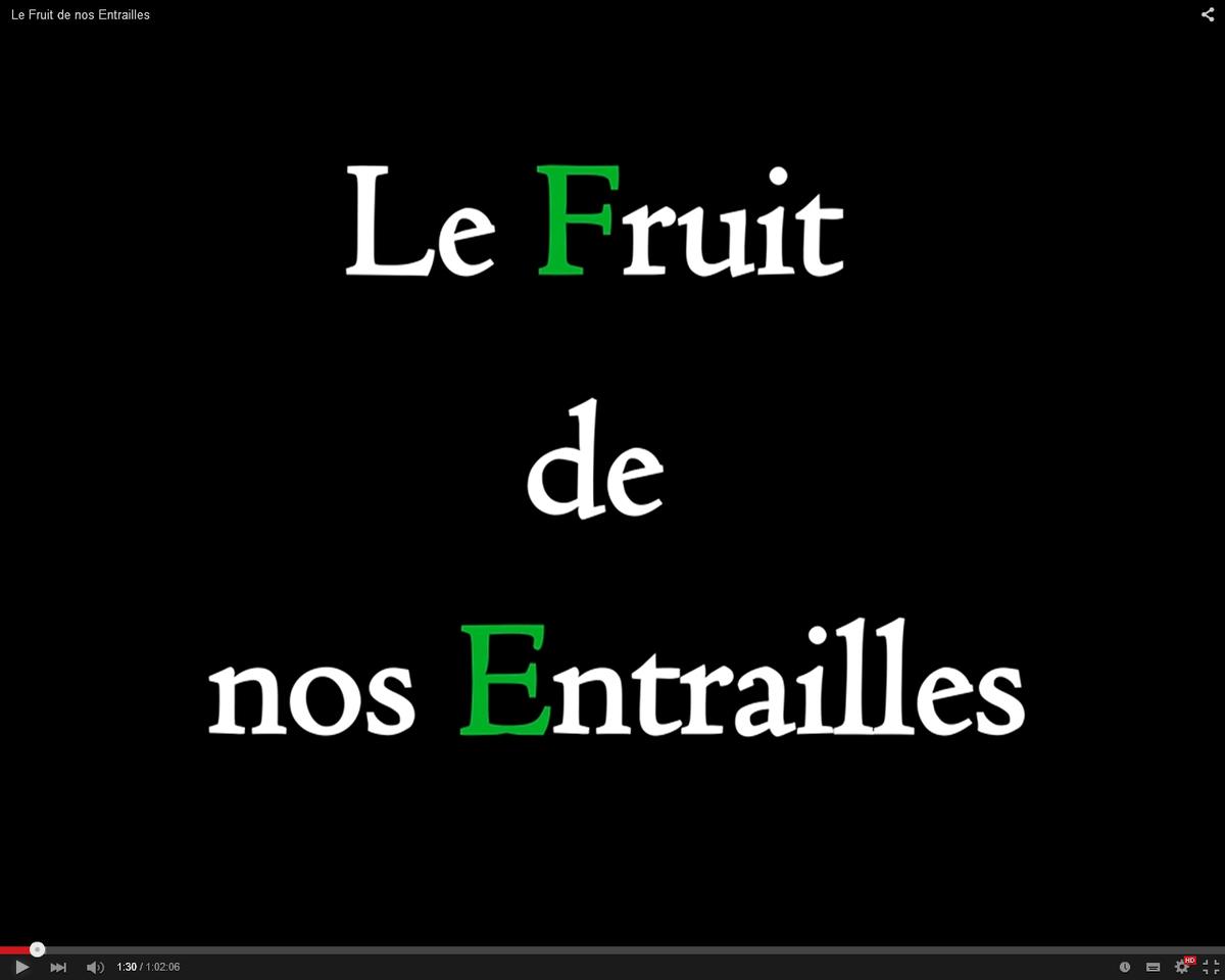 """""""Le fruit de nos entrailes"""" : un documentaire de Maria Poumier"""
