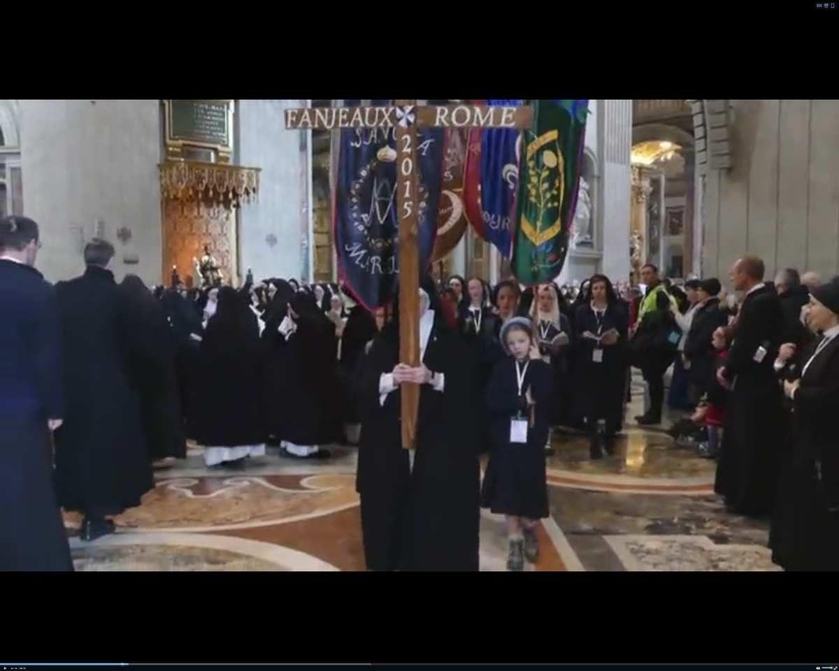Pèlerinage du Saint-Nom-de-Jésus-de Fanjeaux à Rome