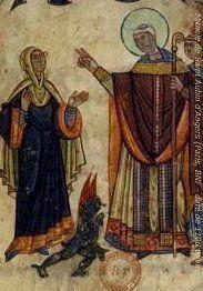 Saint Aubin d'Angers, évêque († 550)