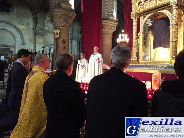 Ostension de la Sainte Tunique d'Argenteuil: Déclaration de Mgr le duc d'Anjou