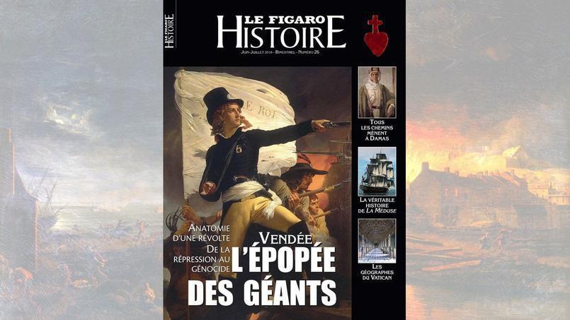 Vendée l'épopée des géants le Figaro, Juin-Juillet 2016, n°26