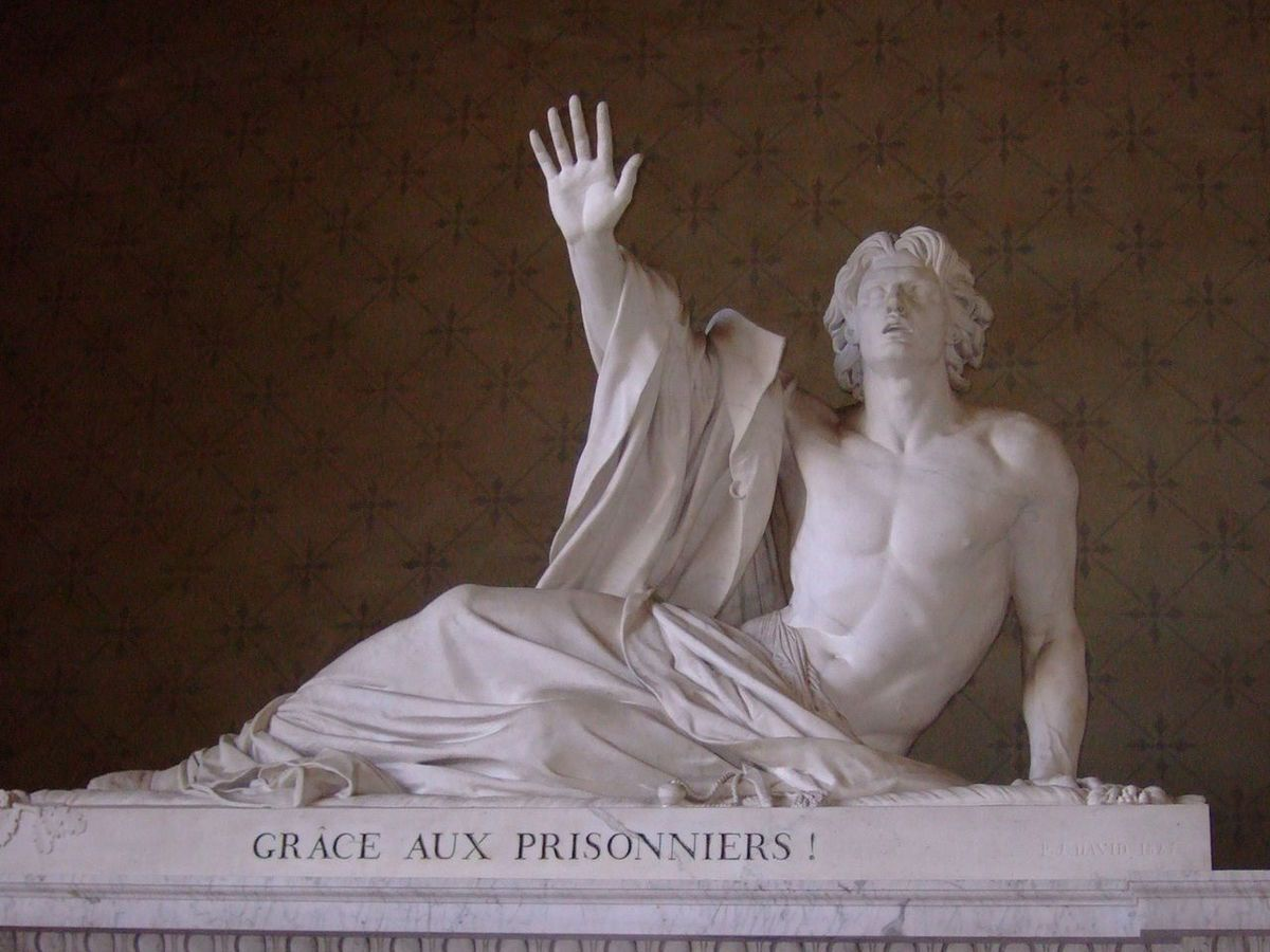 Pardon de Bonchamps-statue de David d'Angers