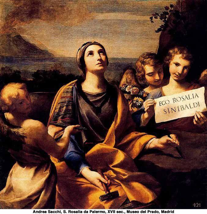 Sainte Rosalie de Palerme