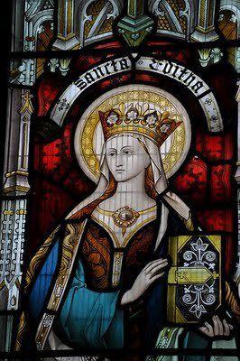 Sainte Édith, fille d'Edgar, roi des Angles, abbesse de Wilton (961-984)