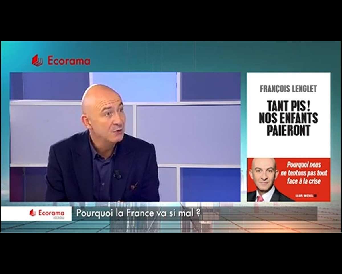 """""""Ce n'est pas impossible que l'on revienne au franc !"""", selon François Lenglet"""