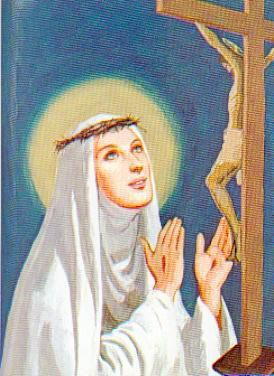 Sainte Catherine de Sienne (1347-1380), patronne de l'Italie, co-patronne de l'Europe