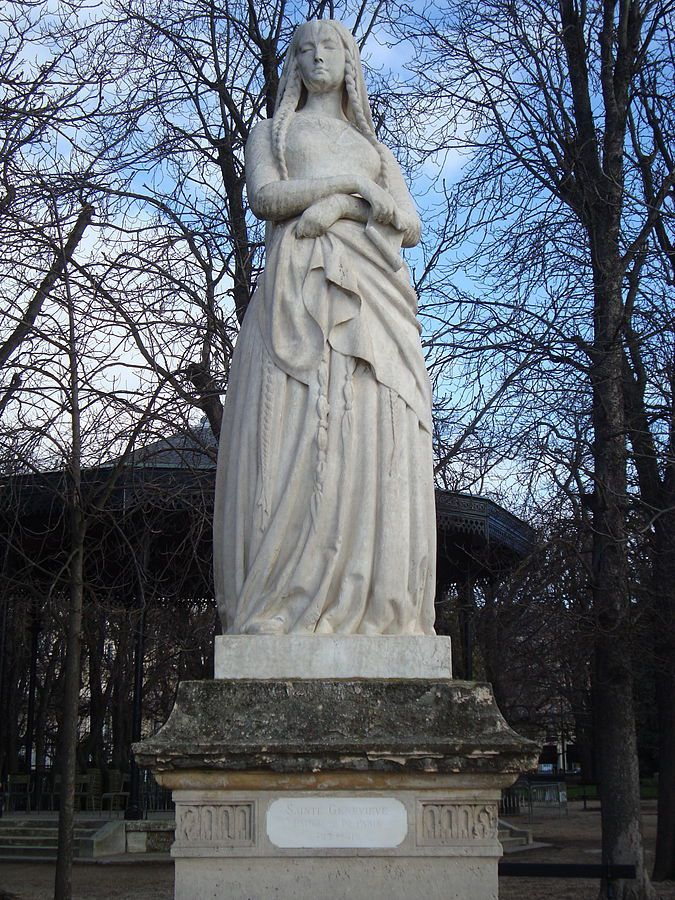 Sainte Geneviève - jardin du Luxembourg