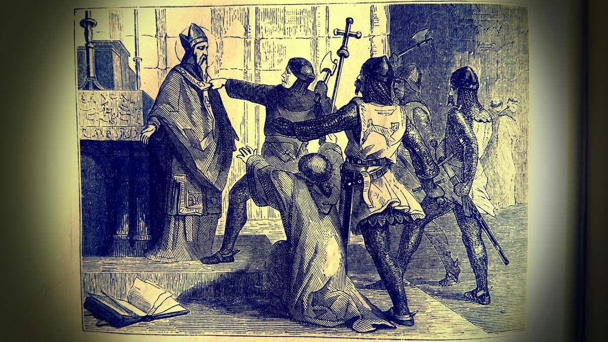SAINT THOMAS, Evêque de Cantorbéry, Martyr