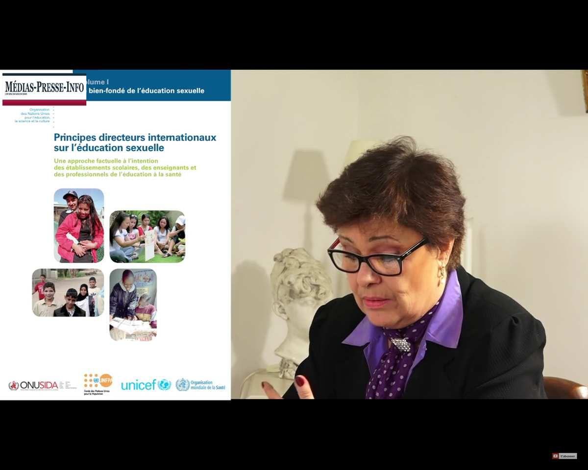Marion Sigaut – Les droits sexuels, la destruction programmée de l'enfance et de la famille