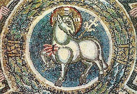 Agneau sans tache, mâle, âgé d'un an (Exode 12.1-28, verset 5)