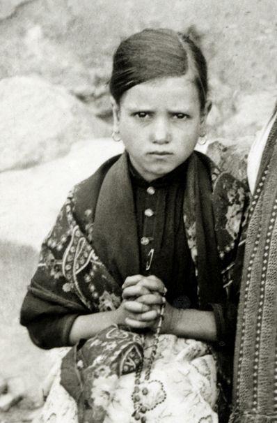 Jacinta Marto en 1917