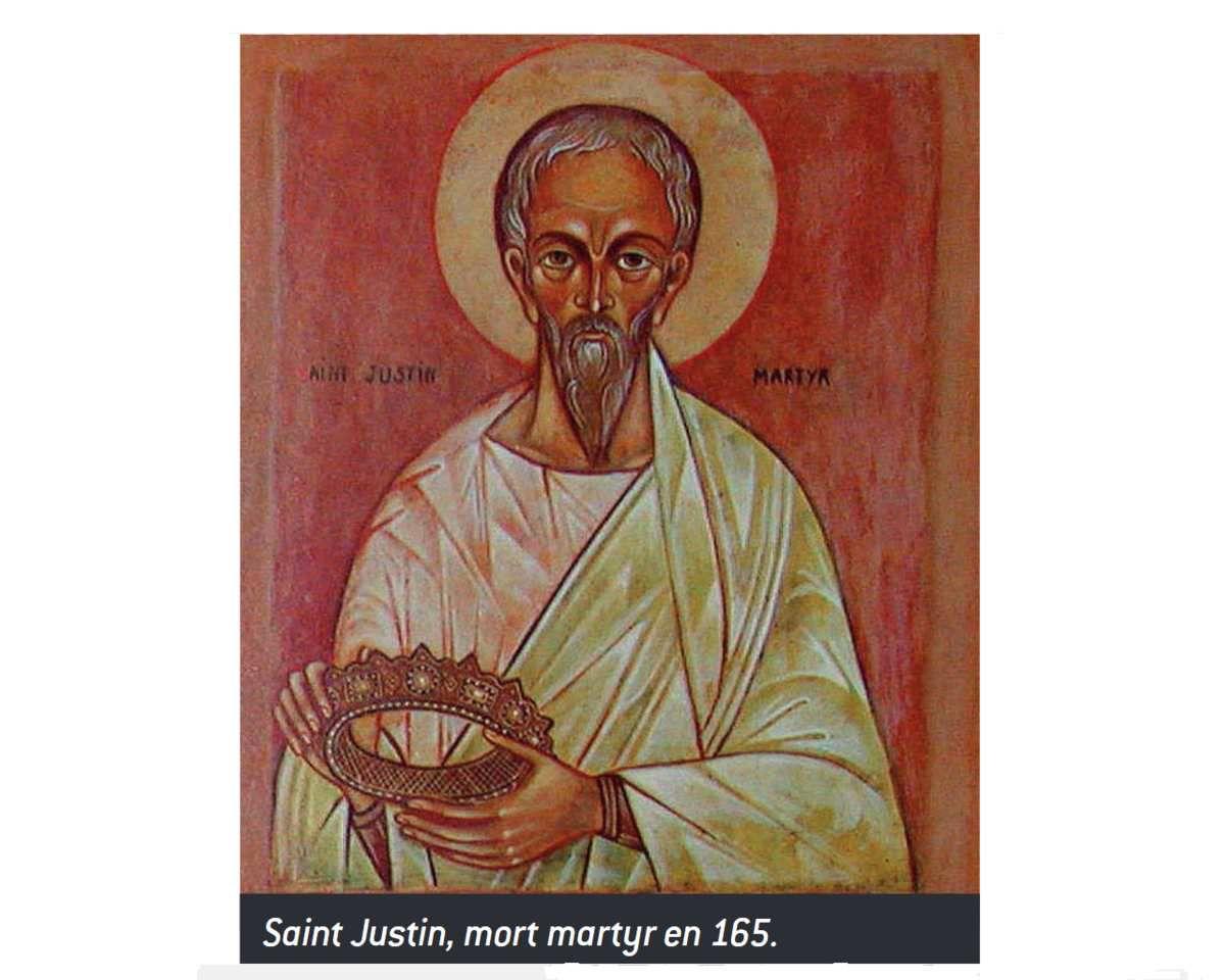 Saint Justin de Néapolis (Naplouse), † martyr v. 165 ap. J.-C. Patron des philosophes