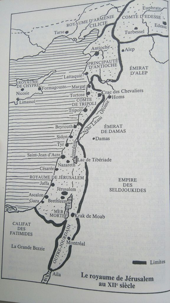 Le Royaume de Jérusalem au XIIe siècle, in Georges Bordonove, Les Croisades et le Royaume de Jérusalem, éd. Pygmalion, Paris 1992, p. 150